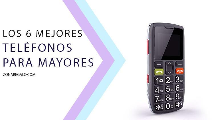 Mejores teléfonos para mayores